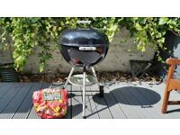 Weber Barbeque 57cm Original Charcoal Used Very Good Condition