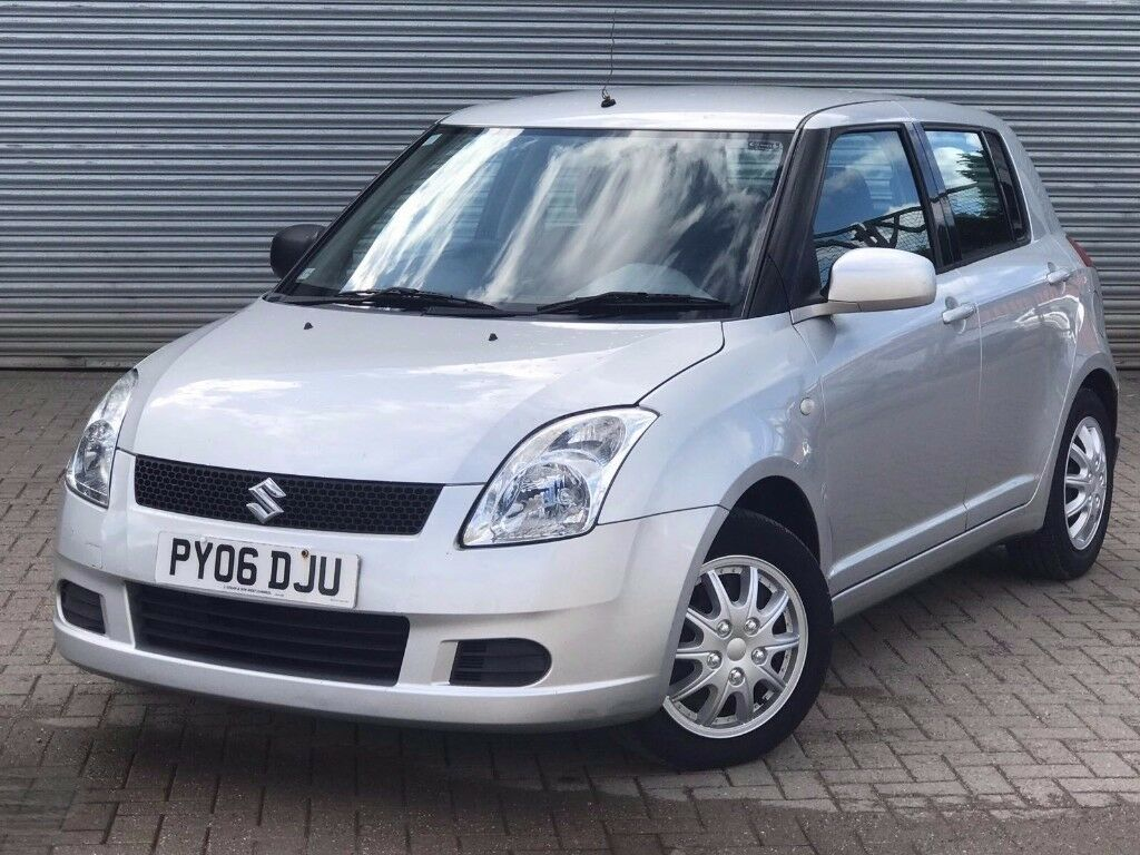 2006 suzuki swift gl 1 3 engine 5 doors 1 previous owner full service history in poole. Black Bedroom Furniture Sets. Home Design Ideas