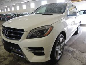 2015 Mercedes-Benz M-Class ML350 BlueTEC 4MATIC, AMG PACK, NAVI