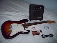 Electric Guitar, Amp, DVD and Book