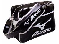 Mizuno Enamel Shoulder Bag Small 16DA810 90 Brand New Black/White