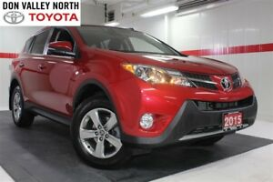 2015 Toyota RAV4 XLE AWD Sunroof BU Camera Btooth Heated Seats