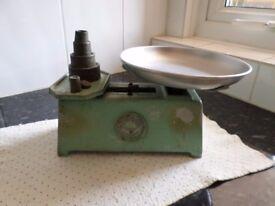 1950's vintage weighing scales