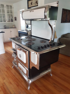 electric stove antique look