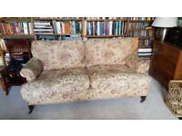 Designer GEORGE SMITH 2 seater sofa RRP £7500