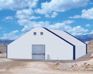 Heavyduty engineered FABRIC and STEEL buildings!!