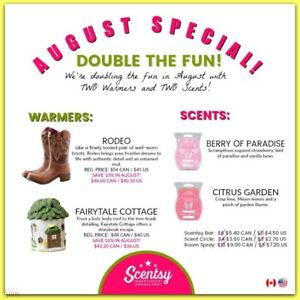 Scentsy 10% OFF in August ONLY !!!