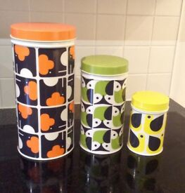 Oral Kiely 3 Canister set