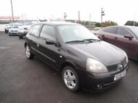 Renault Clio 1.2 16v Extreme 4. MOT August 2018. Low Insurance
