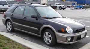 2002-2003 Subaru Impreza Familiale