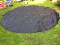 Trampoline jump mat