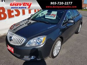 2014 Buick Verano POWER SUNROOF, BACK UP CAMERA, REMOTE STARTER