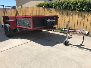 4 x 8 utility trailer