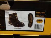 Dewalt Nickel Black safety boot