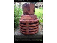 Clay Chimney Pot.