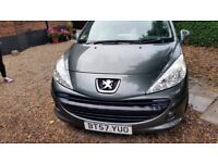 Peugeot 207 SW ,Very low milleage, lady owner