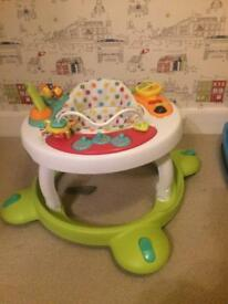 Mothercare walker/activity table