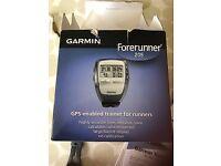Garmin forerunner watch and charger