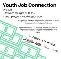 Youth Job Connection -- Strathroy, ON