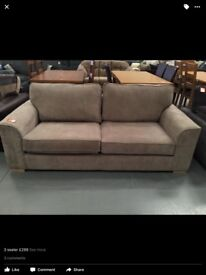 New fabric sofa