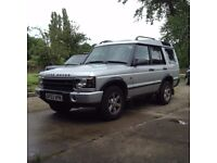 Land Rover Discovery 2 2.5 TD5. Manual.