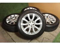 "Genuine Range Rover 20"" Alloy wheels 5x120 Sport Land Rover VW T5 Alloys"