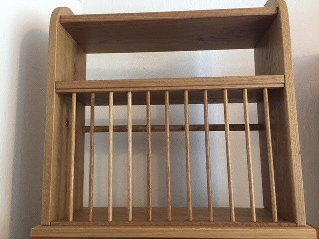As new Plate Rack, never used : pine, great for the country kitchen