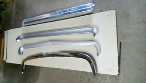 FORD CAPRI 1972 -CHROME BUMPERS (1968 - 72)