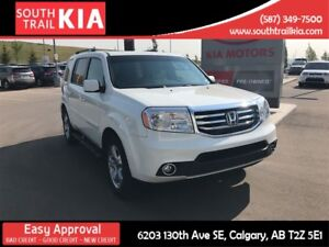 2015 Honda Pilot EX-L LEATHER DVD 7 PASSENGER