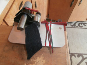 Rug Hooking Cutter Rigby C with #4 and blade to cut for Braiding