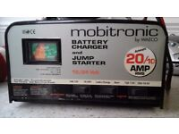 Battery Charger / Jump Starer and Battery Tester.