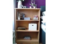 Beech Finish Strong Bookcase Bedroom