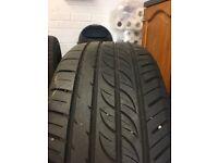 Set of 215/55/16 Tyres