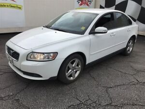 2009 Volvo S40 2.4L, Automatic, Leather,
