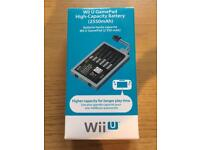 Wii U High Capacity battery, Original console stands and Hori Screen Protector