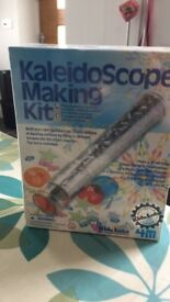 Brand new sealed kaleidoscope making kit