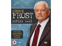 A Touch of Frost DVD Boxset with David Jason