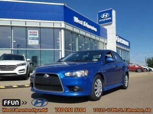 2015 Mitsubishi Lancer SE  Bluetooth Heated seats sunroof 160,00