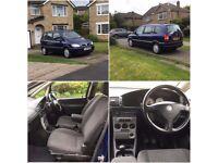 Vauxhall Zafira 2.0 Dti Diesel 7 Seater *1 Former Keeper** Mot* Cheap Runabout*