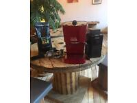 Gaggia coffee machine and blender