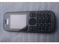 Sim Free Unlocked Nokia 105 Mobile Phone - As New Mint Condition