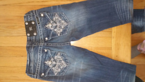 Designer Jeans Lot Miss Me, Parasuco Sizes 26/3 New Condition