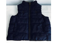 Baby Gap body warmer & matching hat, immaculate as shown in pictures, take both at only £10
