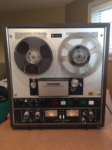 For Sony Model TC-651 is a solid state stereo tape deck