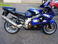 Kawasaki ZX9r F1p 2002 for sale
