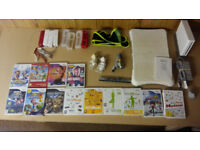 Wii + Wii Balance Board + Extra Controllers + 13 Games - Large Bundle