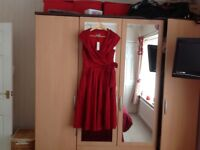 Ladies Lindy Bop Dress brand new with tags size 12 Never Worn