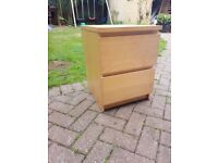 Ikea 2 drawer chest of drawers (Free local delivery)