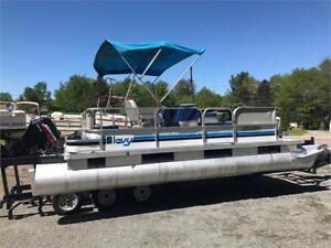 ***4-STROKE*** JUST CAME IN - 20' PONTOON WITH NEWER 4 STROKE