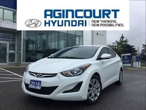 2016 Hyundai Elantra GL/HEATED SEATS/OFF LEASE/ONLY 37439KMS